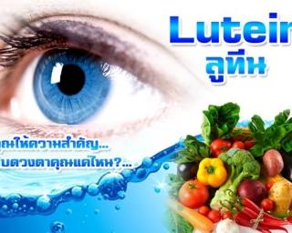 ลูทีน ยา อาหารเสริม ดวงตา